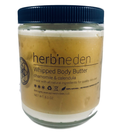 HERB'N EDEN - WHIPPED BODY BUTTER CHAMOMILE