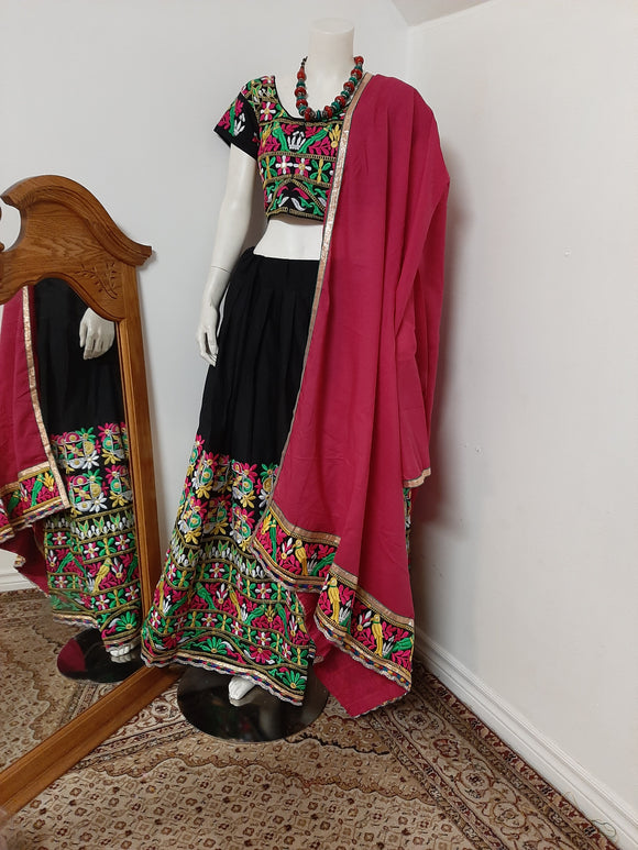 Black Chaniya Choli