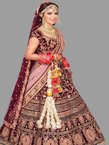 Heavy Lehenga Two Dupatta