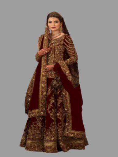 Long top Designer lehenga