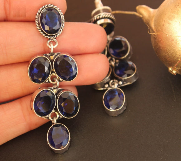 Artistic Collections- Earing- Blue Stones