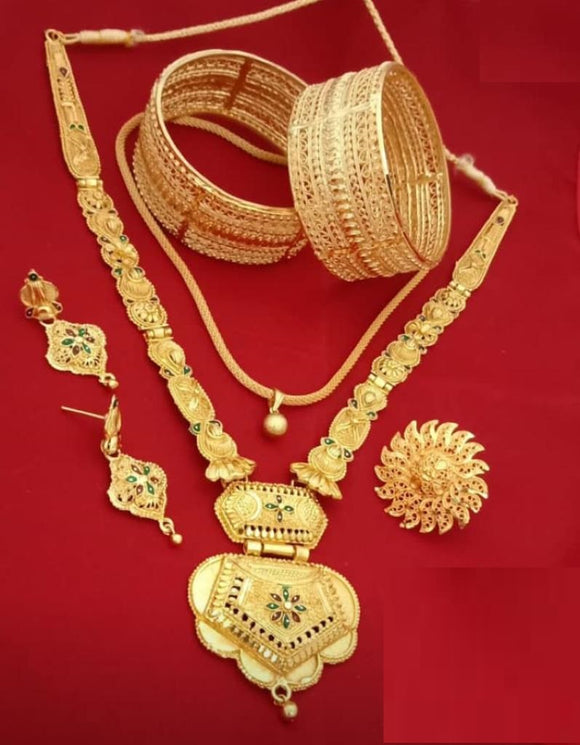 Traditional Collections- Golden Plated set