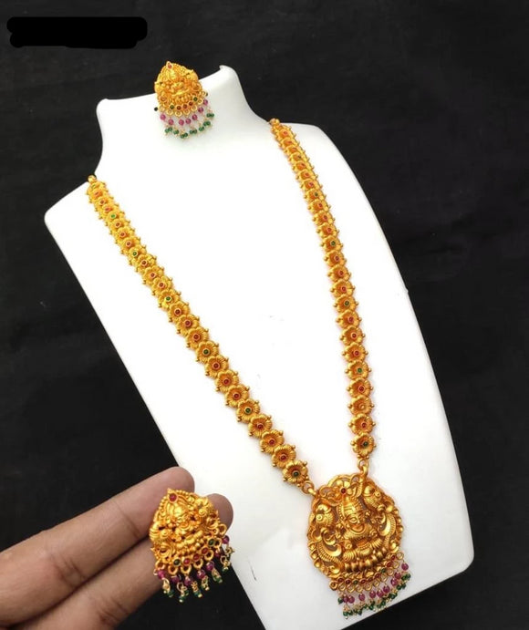 Traditional Collections-Long Necklace earrings