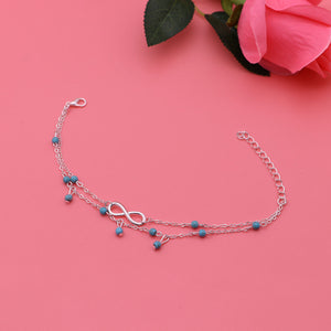 Summer 8 Shape Beads Bohemian Anklet