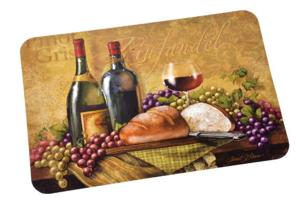 Wine Themed Plastic Placemats