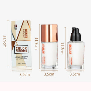 Colour Changing Foundation