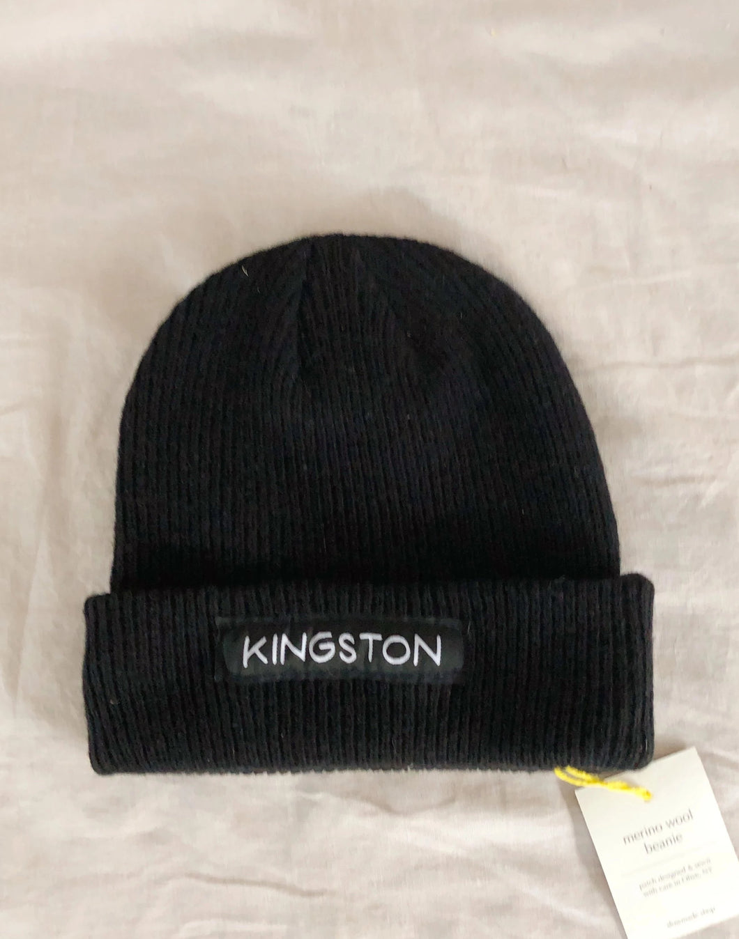 Black Kingston Beanie