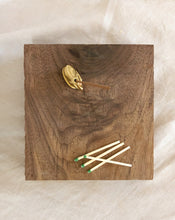 Load image into Gallery viewer, Brass Elephant Incense Holder