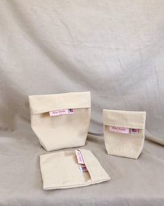 Cotton Snack Bags