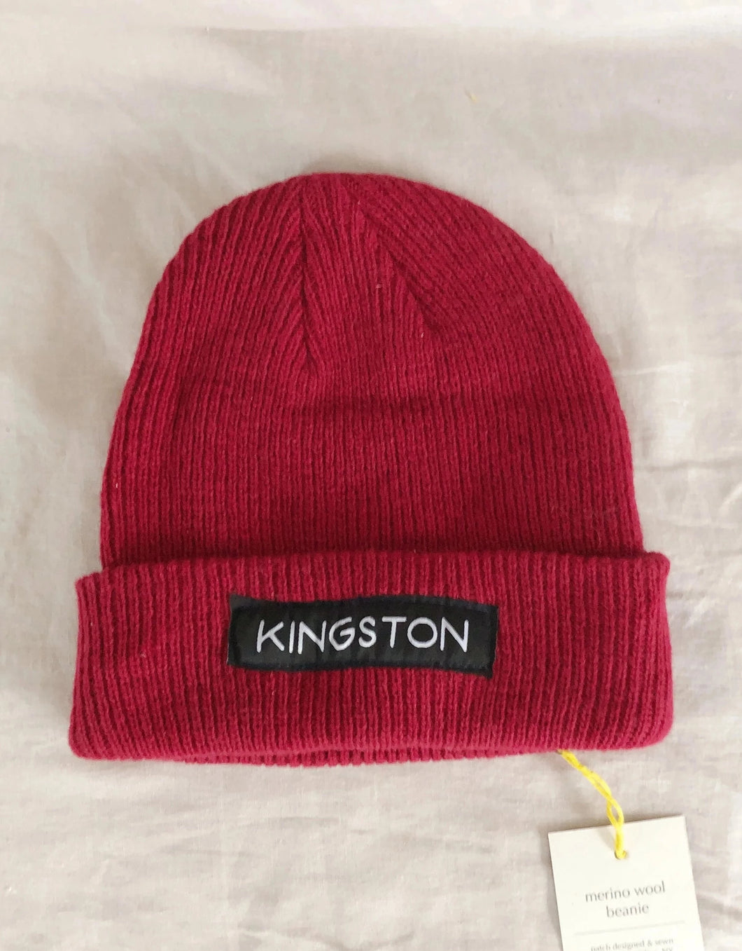 Red Kingston Beanie