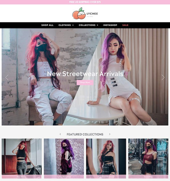 Lychee the label website