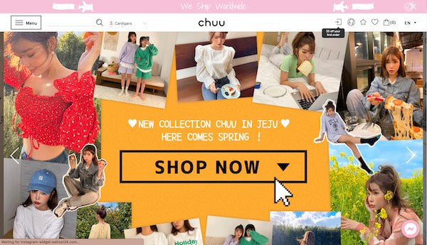chuu online store