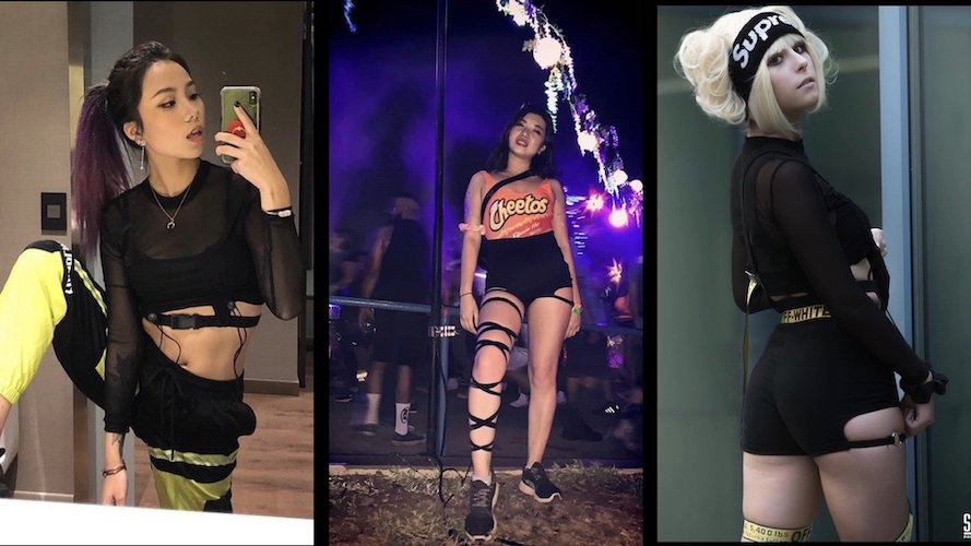 rave outfits women