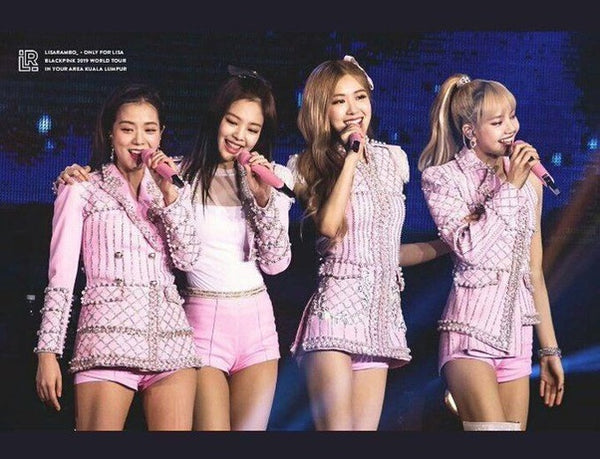 blackpink popstar outfits
