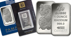 Rhodium the rarest of platinum metals group