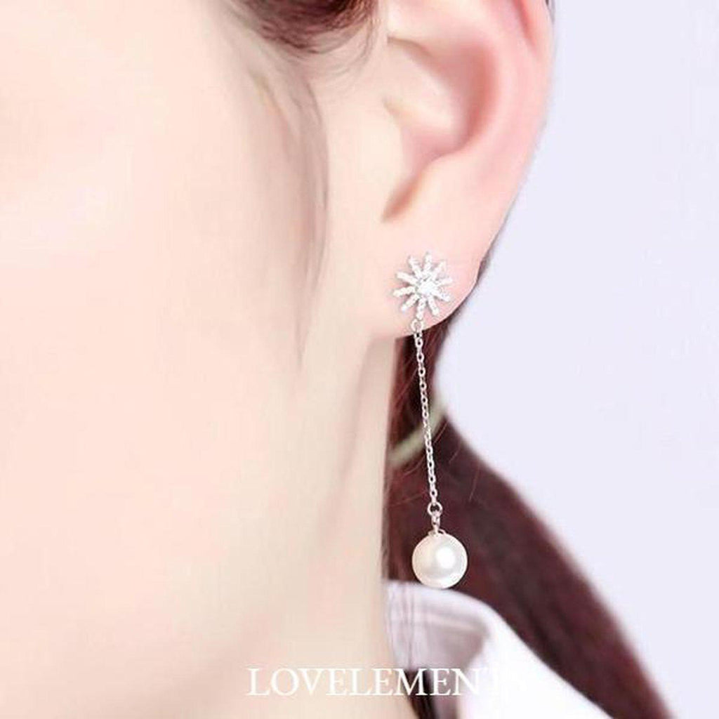 Earrings - Lovely My Princess Pearl Earrings (L)