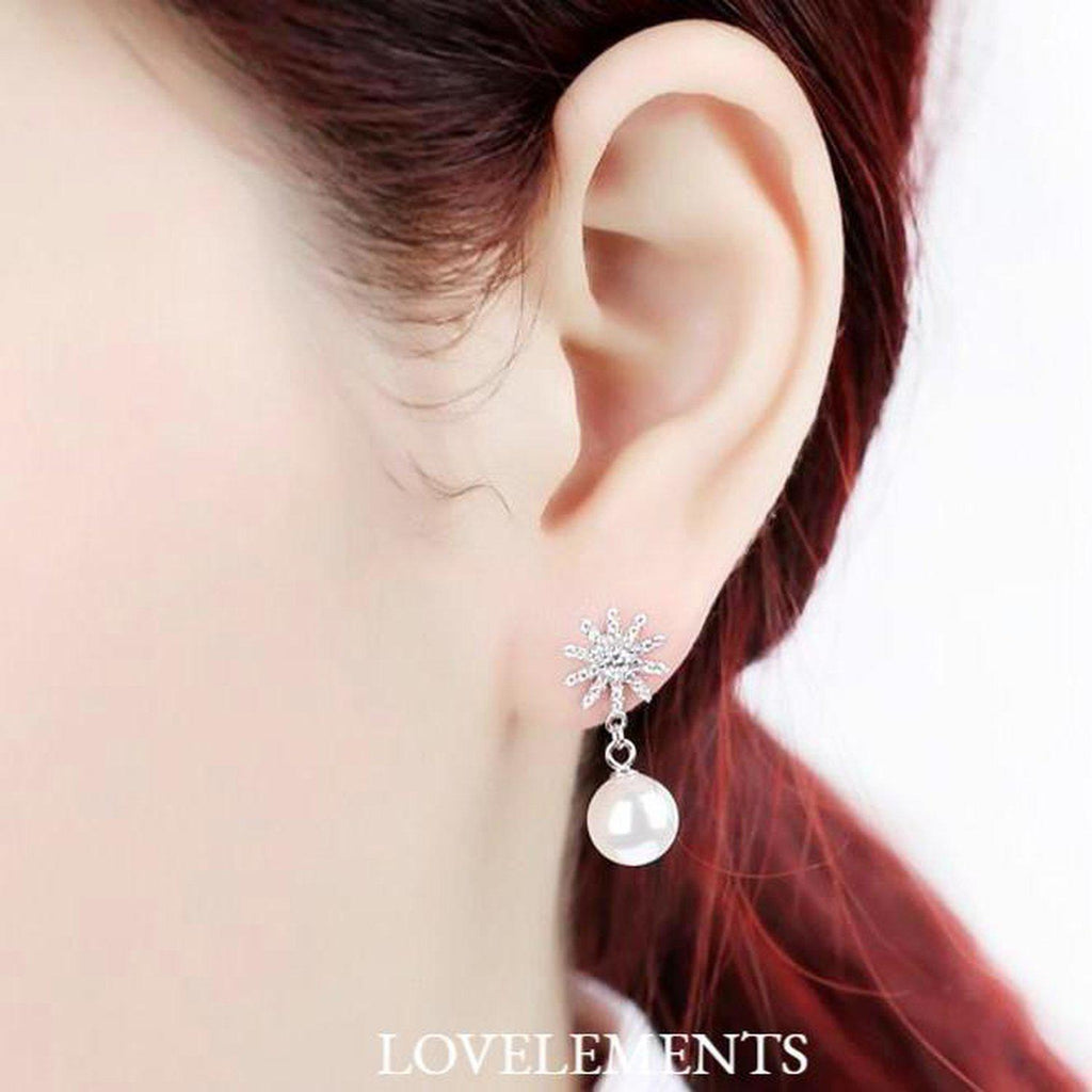 Earrings - Lovely My Princess Pearl Earrings (S)