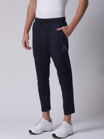Men Navy Track Pants