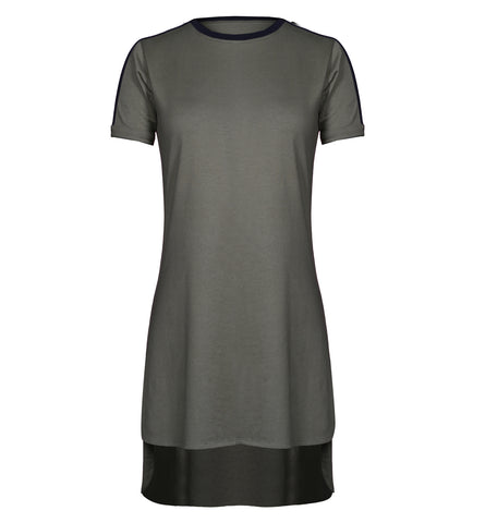 Athleisure High-Low Dress