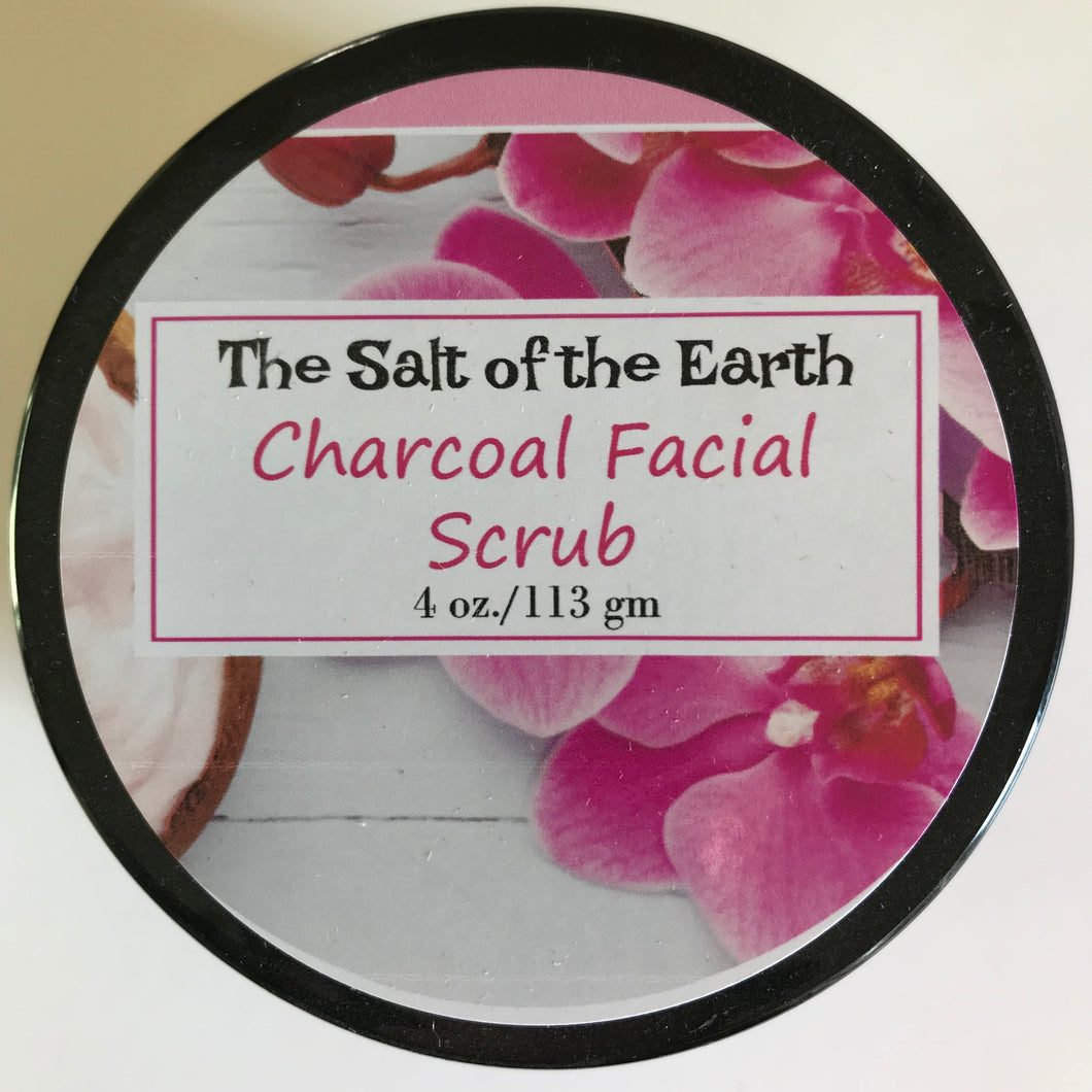 Charcoal and Clay Face Scrub