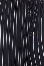 Load image into Gallery viewer, Striped Pleated Drawstring Pants