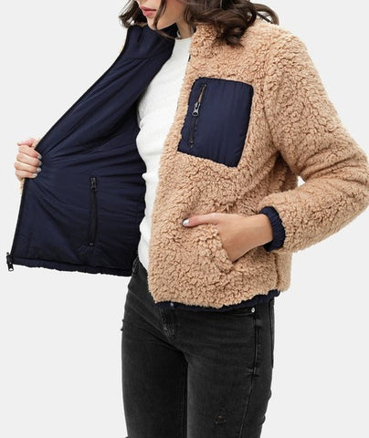 Reversible Sherpa Jacket