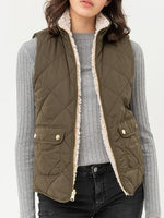 Load image into Gallery viewer, Reversible Quilted Vest