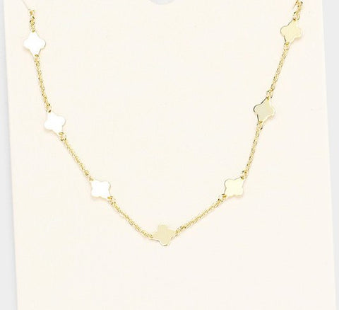 Clover Necklace (Gold)