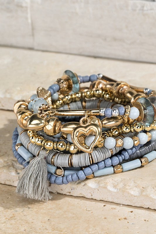 Mixed Media Bracelet Set