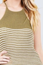 Load image into Gallery viewer, Stripe Sweater Tank