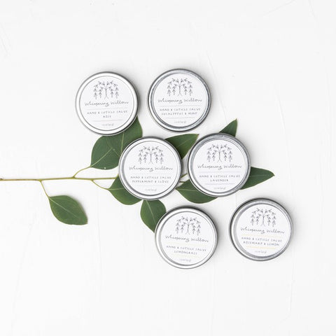 Eucalyptus Mint Hand & Cuticle Salve by Whispering Willow