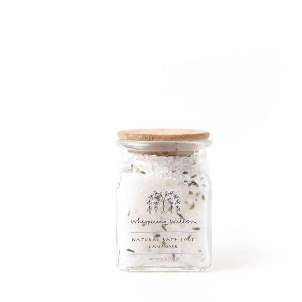 Lavender Bath Salt by Whispering Willow