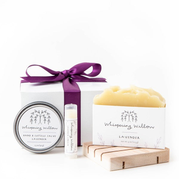Lavender Self Care Box by Whispering Willow