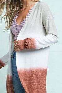 Lightweight Dye Cardigan