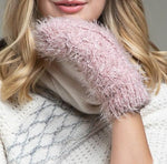 Load image into Gallery viewer, Eyelash Knit Mittens