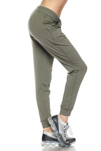 Solid Joggers (Military Green)