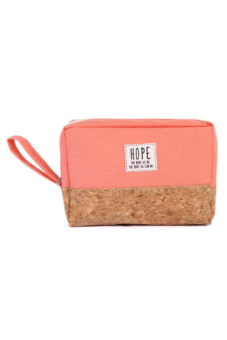 """Hope"" Cosmetic Bag"