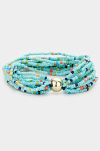 Bead Stretch Barcelet (Turquoise)