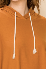 Load image into Gallery viewer, Balloon Sleeve Crop Hoodie