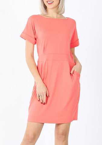 Buttery Soft Belted Dress