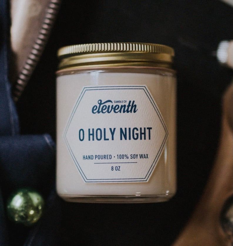 O Holy Night 4 oz Candle