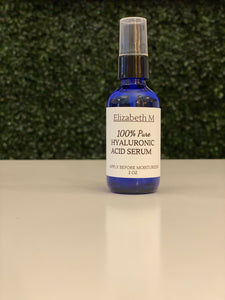 Elizabeth M - 100% Pure Hyaluronic Acid Serum