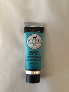 Blue Ridge Wildflower Goat Milk Hand Cream (1 oz)