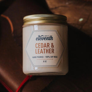 Cedar & Leather (4 oz)
