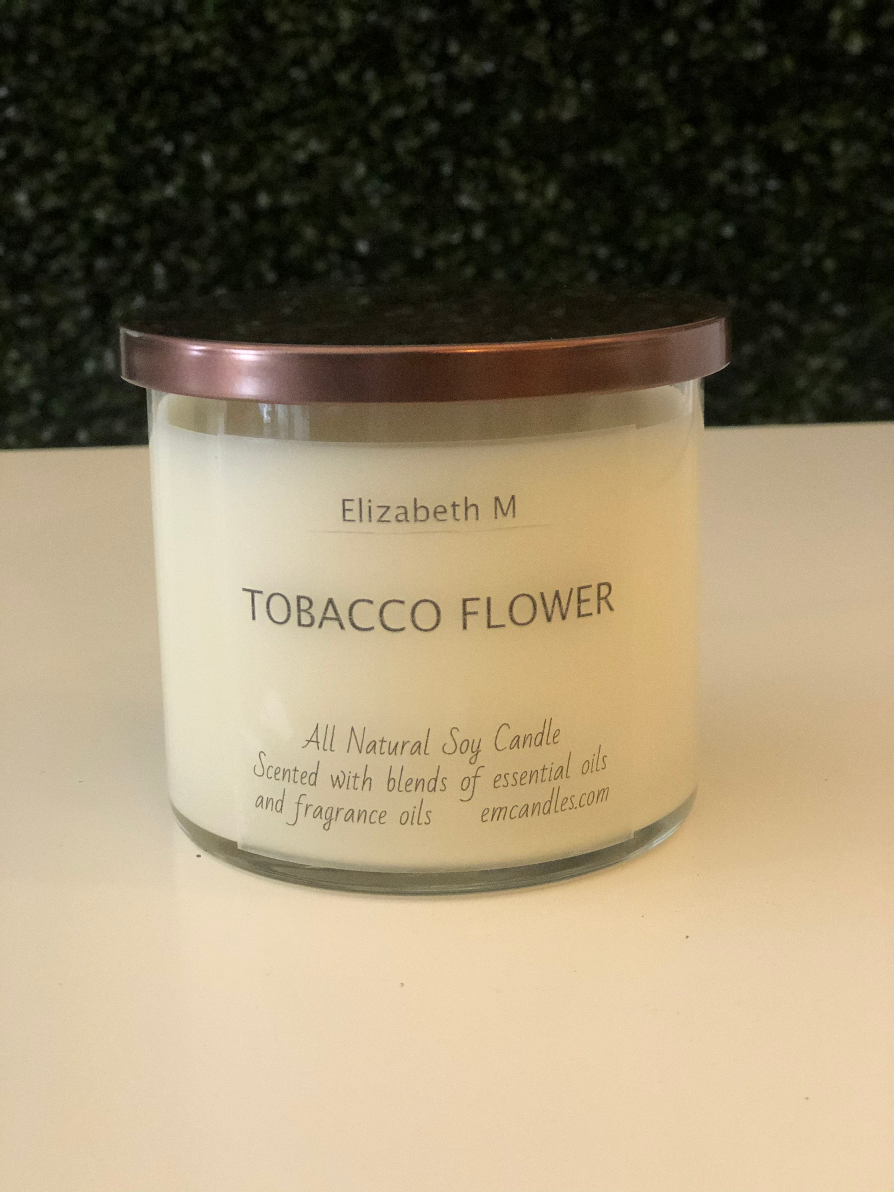 Tobacco Flower Soy Candle
