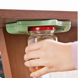 Under-the-Counter Hexagonal Jar & Bottle Opener
