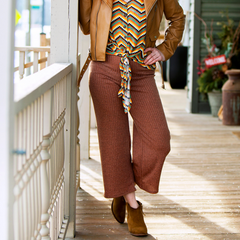 Knitted Gaucho Pant