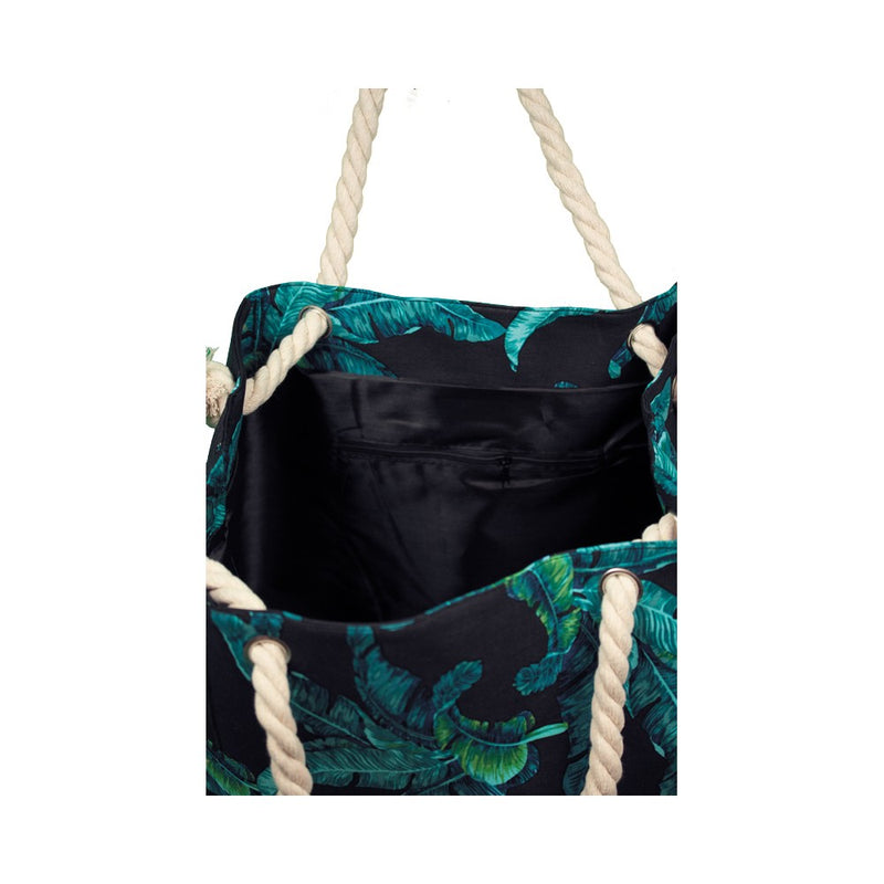 The Palm Beach Bag (in black)