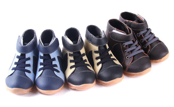 Anklebiter Toddler Boots available in Black Brown or Blue