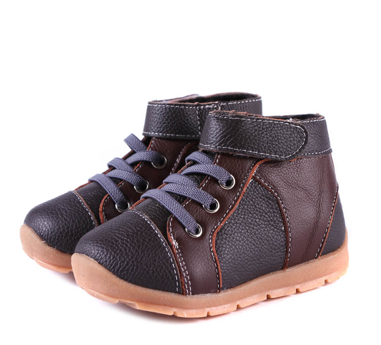Anklebiter Brown Black Toddler Boots